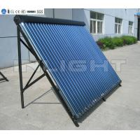 Best 14mm Condenser Copper Solar Collector With 24 Tubes Black Aluminum Alloy Frame wholesale