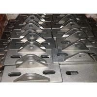 China Silver Stainless Steel Construction Products , Stainless Steel Mounting Brackets GB Approved on sale