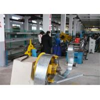 China Gear Driving Rolling Shutter Strip Forming Machine6~8m/min Galvanized Steel on sale