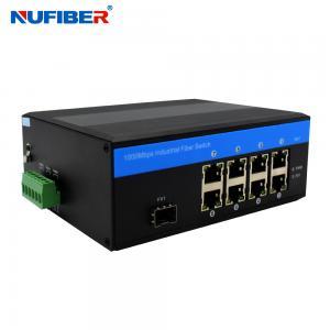 Best DC48V Managed Industrial Ethernet Switch 8 Port NF518GMP-SFP wholesale