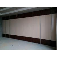Best 100 mm Thickness Banquet Hall Movable Wall Board / Folding Sliding Partition Walls wholesale