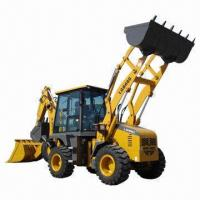 Best Backhoe Loader, Equipped with Yuchai YC4B90 Engine/1.0m3 Load Bucket Capacity, 0.3m3 Backhoe Bucket wholesale