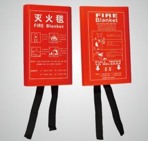 Best fiber glass fire protection blanket   High temperature Fiberglass Fire Blanket wholesale