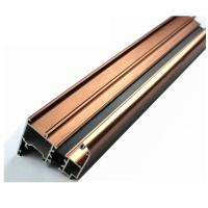 6063 U Shaped Aluminium Profile , Mechanically Polished Aluminium Corner Profile Joint