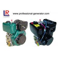 Best Portable 10HP Single Cylinder Diesel Engine with 4 Stroke Manual / Electric Start , Air Cooled 406cc wholesale