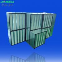 Pleated HEPA Filter With Low Energy Consumption - High Air Flow Multi V Hepa Filter