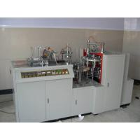 45-50pcs/Min Paper Cup Forming Machine , White 2-16oz Paper Cup Plate Machine