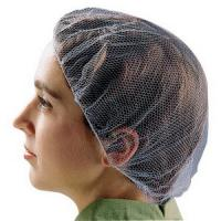 Best Disposable Food Preparation Hair Nets , Cleanroom Disposable Hair Nets Food Service  wholesale