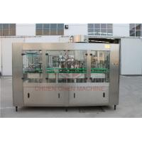 1000ML Glass Bottle Filling Machine With Electric Square Glass Jars Capping