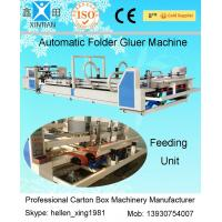 China 3 Phase Automatic Folder Gluer Machine 380V 50HZ , Digital Control on sale
