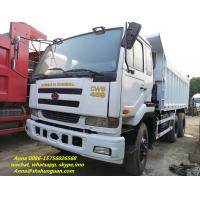 China 2015 Year Nissan 6x4 Dump Truck Used Condition 251 - 350 Hp Horse Power on sale