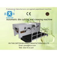 Custom Paper Carton Folding Machine For Colored Boxes Of Cardboard / Paperboard