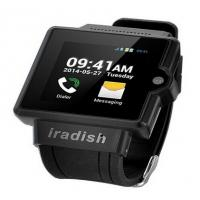 I6 Watch Phone 1.54 Inch Screen MTK6577 Android 4.0 OS Camera 4GB GPS 3G 2.0MP