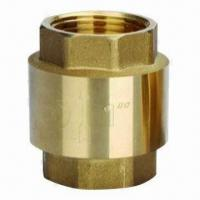 Best Brass Universal Check Valve with Rubber Seat, Plastic or Brass Disc Available wholesale