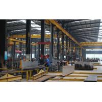 China Hot-Sales H beam Steel Structure Frame For Warehouse & Workshop With Grey Paint on sale