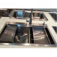 China High Quality Stainless Steel Handmade Kitchen Sink on sale