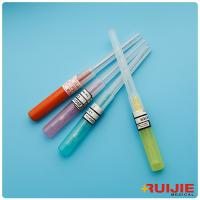 China IV Cannual  yellow,blue colors PTFE / FEP / PU  material pen type  IV Cannula on sale