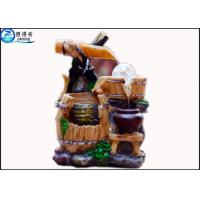 Best Rockery Fountain Aquarium Water Home Decoration Crafts Round Lucky Feng Shui With Aqua Model wholesale