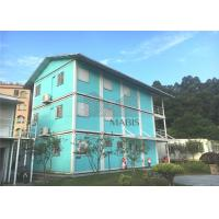 Best Multistory Flat Pack Container House , Flat Pack Steel Storage Containers For Dormitory wholesale