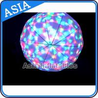 China LED Light  Helium Balloon And Blimps , Flying Advertising Colorful Inflatables on sale