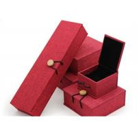 Luxury Necklace Paper Jewelry Box Offset Printing Durable For Presentation Gift for sale
