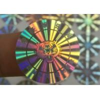 Best 3D Hologram Stickers / Anti Counterfeit Label With Serial Number Codes wholesale