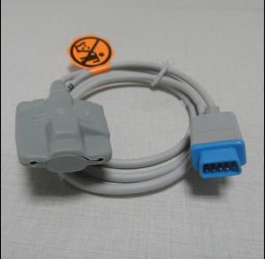China Compatible For BCI DB9 Animal Use EarClip type Spo2 Sensor Pulse Oximeter Spo2 Probe Monitor Cable TPU 3M Probe Sensor on sale