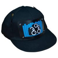 Best China supply customized  flashing el hats music activated led caps with wireless inverter high brightness wholesale