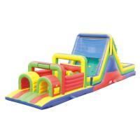 Best 1000D PVC Playground Inflatable Obstacle Courses YHOB-002 for Kids wholesale