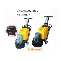 China Planetary Plate Terrazzo Floor Grinder / Polisher With Magnetic Head 50HZ / 60HZ on sale