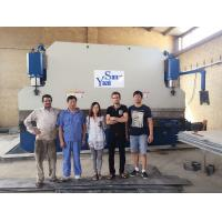 Buy cheap 400 Ton Plate Pipe Hydraulic Press Brake Bending Machine With 3.2m/4m/5m/6m product