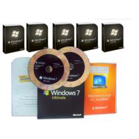 Best Microsoft Windows 7 Ultimate Edition , Windows 7 Ultimate OEM Pack For Global Area wholesale
