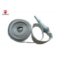 Best 3 Inch Lay Flat Irrigation Discharge Hose 1.5 Inch Rubber Hose Reels Firefighting wholesale