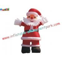 China Cute santa Snowman Inflatable Christmas outside yard Decorations 2 to 8 Meter high on sale
