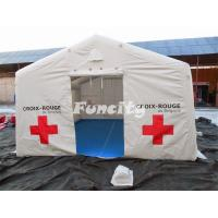 China Customized Large Inflatable Medical Tent / Rescue Tent For Army Emergency on sale
