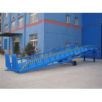 China Adjustable Warehouse Mobile Loading Ramp 8T 14 ton For Container Loading & Unloading on sale