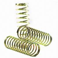Best Conical/Color-plated Compression Springs, Special Spring Factory with 0.08 to 10mm Wire Diameter wholesale