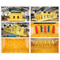 Best Inflatable Jungle Run Obstacle Course wholesale