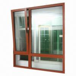 Best Tilt and Turn Aluminum Window with Thermal-break, Heat-insulation Aluminum Alloy 6063-T5 wholesale