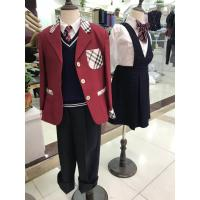 China Custom Shirt Vest Blazer Skirts Sports Design Formal University  Primary High School Uniform For Teacher Children's Kids on sale