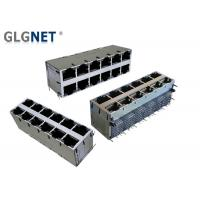 Best DIP Mounting Magnetic RJ45 Connector 1G Integrated 2x6 Stacked ICM For Wed Servers wholesale