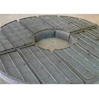 Best High Removal Efficiency Demister Mat , Wire Mesh Mist Eliminator For Gas Liquid Foam wholesale