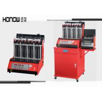 Best Car Automatic Ultrasonic Fuel Injector Cleaning Machine 8 Cylinders 250W Power wholesale