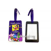 Best Soft PVC rubber luggage tag supply personalized luggage tag custom wholesale
