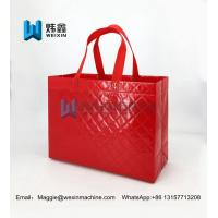 Cheap Hot sale Embossing pp laminated non woven bag with gravure printing/shopping bag for sale