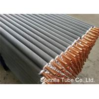 Best 11 FPI Extruded Fin Tube / Heat Exchanger Finned Tube 25000MM Length wholesale
