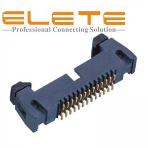 Best 1.27mm *2.54mm pitch Box header, ejector connector,SMT Type Samtec EHF-113-01-F-D-SM-K equivalent wholesale