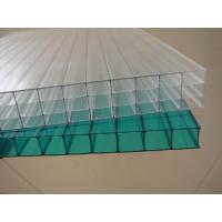 Best Clear weather resistance Twin walls Polycarbonate Hollow Sheet 12 / 14 / 16 mm wholesale