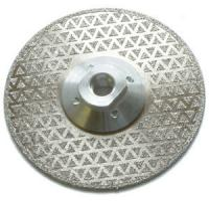 High Precision Diamond Cutting Blade , No Chipping Diamond Marble Cutting Blade