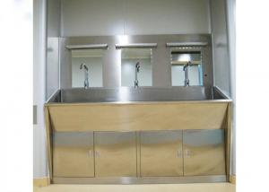 Best 3 Mirrors Hand Washing Bathroom Basin Cabinets With Three Positions wholesale